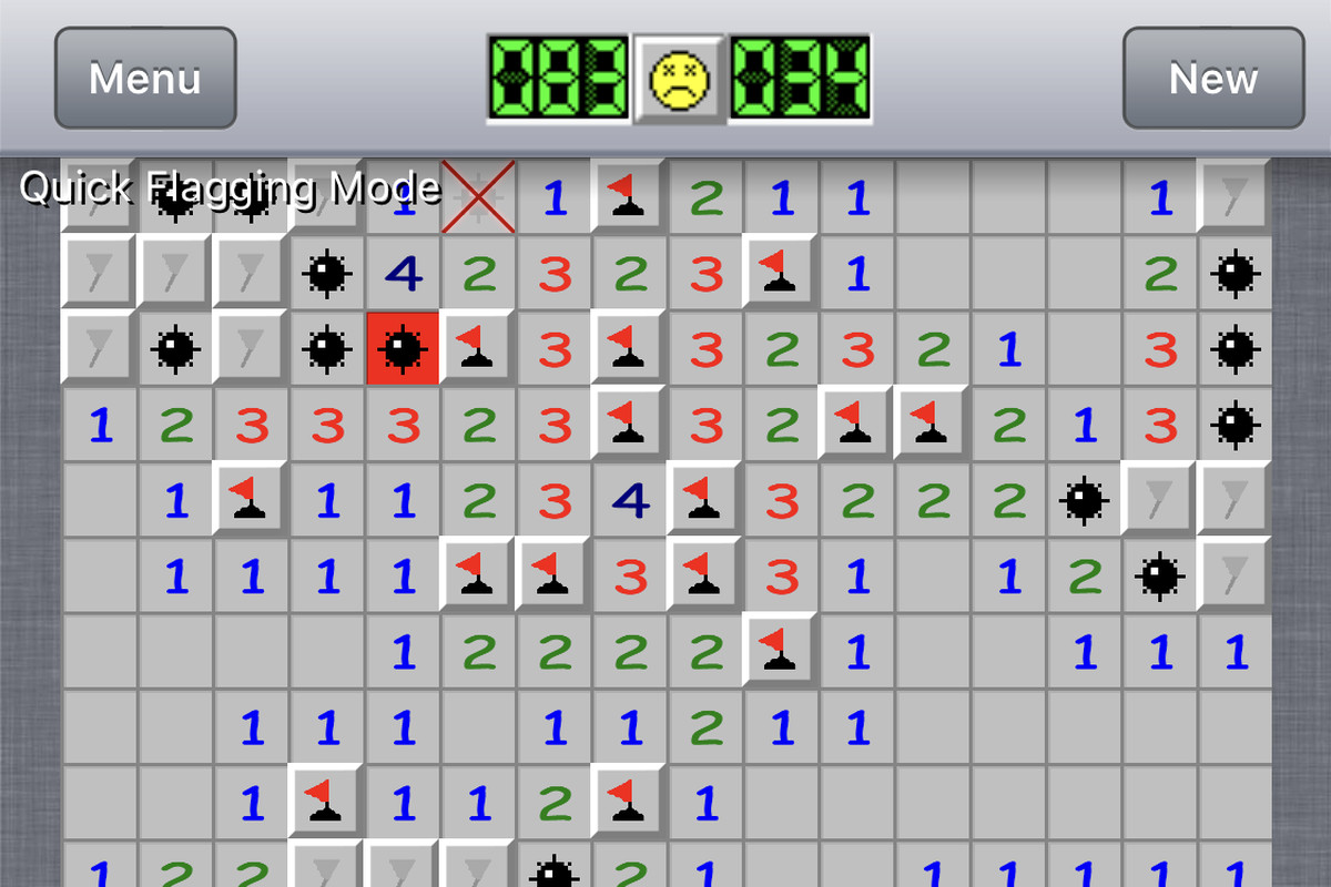The only game I play on my phone is Minesweeper - The Verge