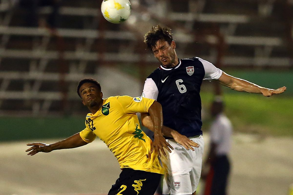 McCleary in action for Jamaica back in 2013.