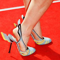 Prada's hot rod stilettos from the Spring/Summer 2012 collection, via Getty