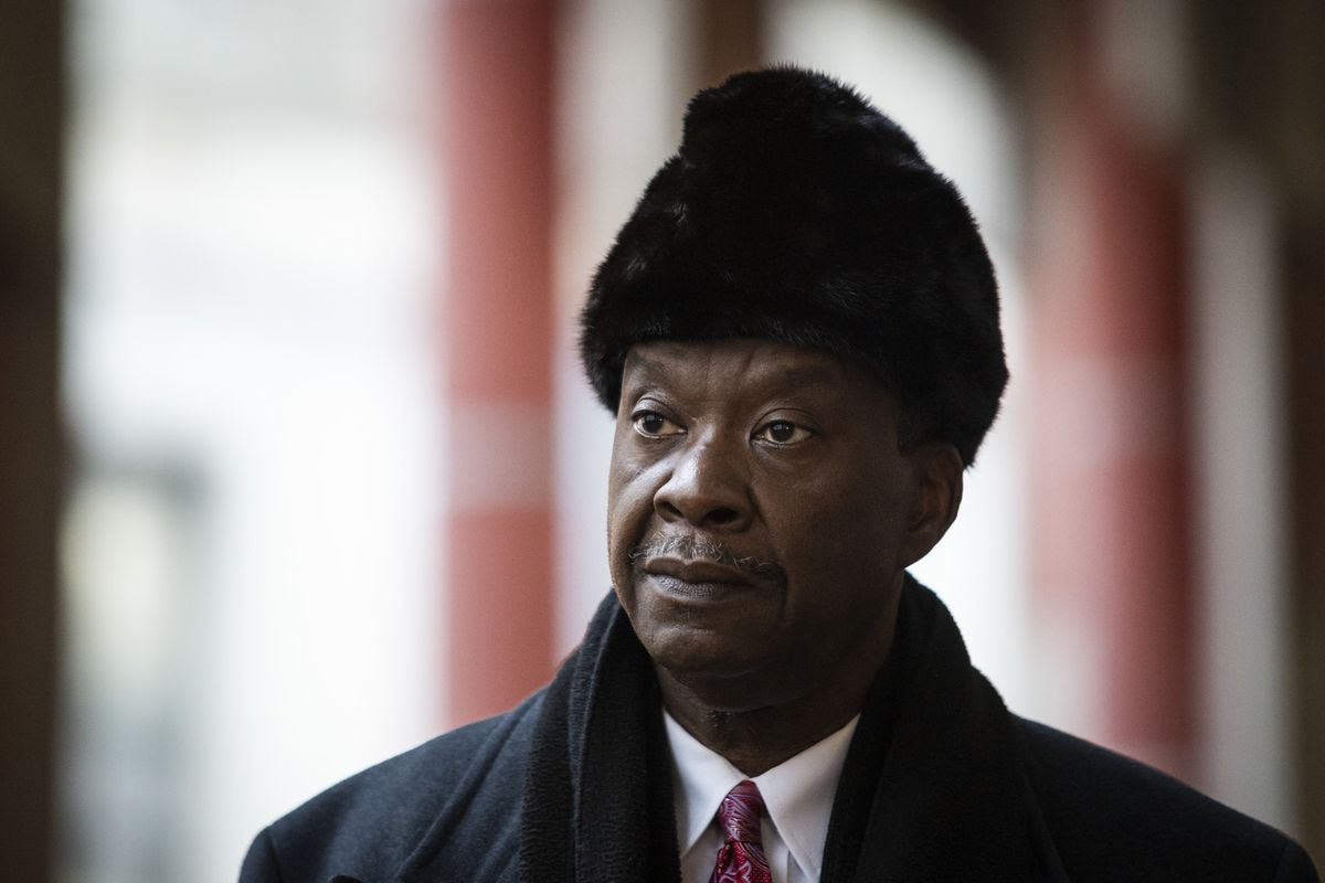 Willie Wilson joined dozens of religious leaders and supporters Thursday outside the Thompson Center to call on Gov. J.B. Pritzker to allow churches to reopen amid the ongoing coronavirus pandemic,