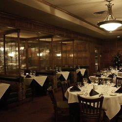 A look at the booths at Kelly's Prime Steak & Seafood.