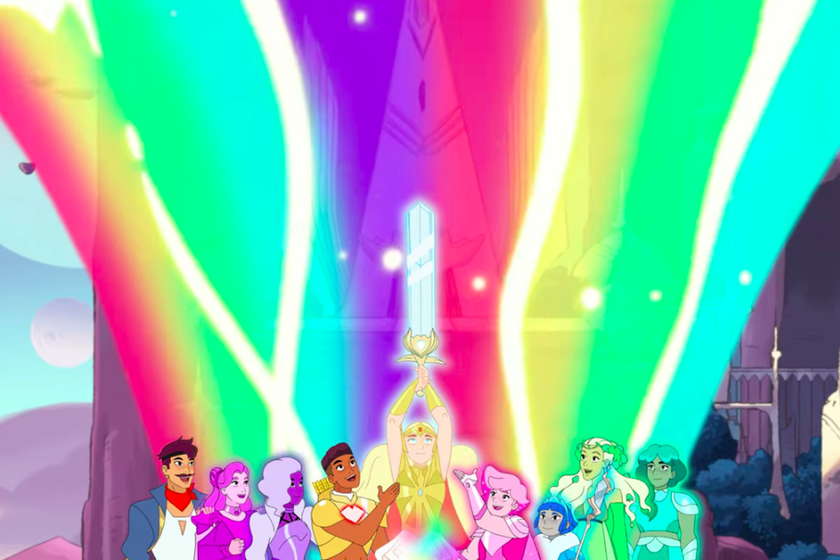 netflix s she ra and the princesses of power review vox