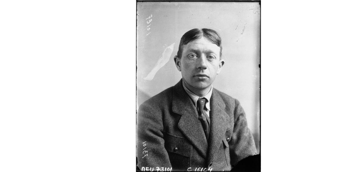 Honoré Barthélémy, photographed ahead of the 1919 Tour