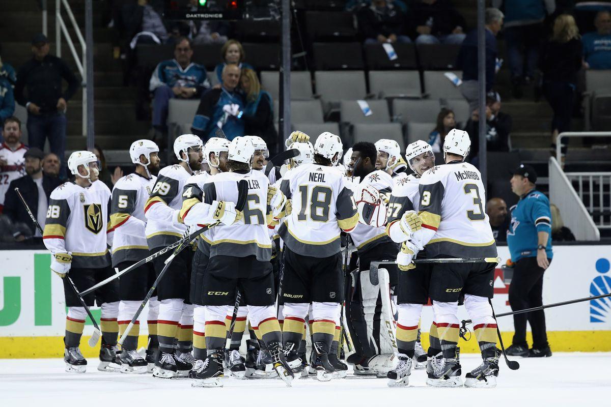 Vegas Golden Knights v San Jose Sharks - Game Six