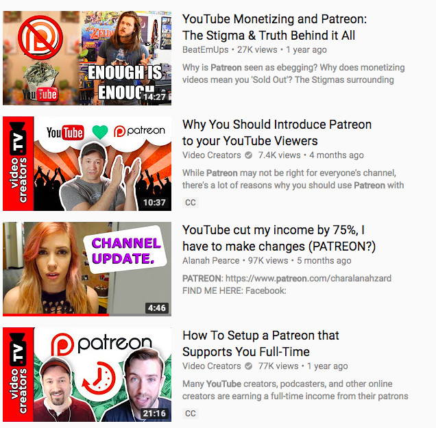 YouTube's policy on Patreon, external links will hit new