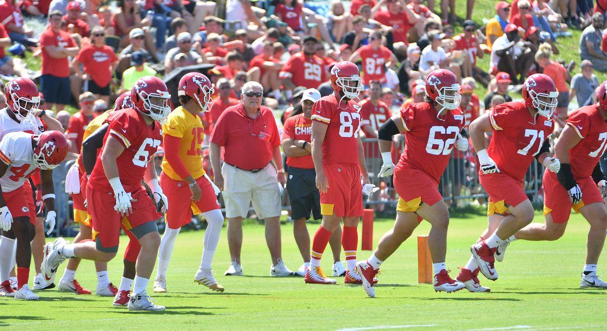 NFL: Kansas City Chiefs-Training Camp