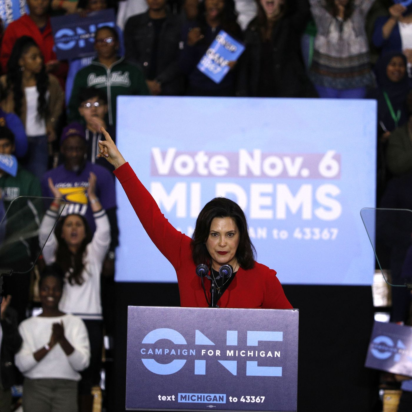 Democrat Gretchen Whitmer Wins Michigan Governor Race Beating Bill Schuette Vox