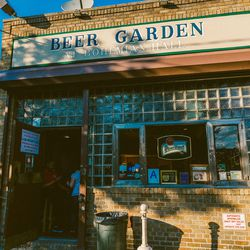 """<b>↑</b>Before the boom of beer halls and gardens, <b><a href="""" http://www.bohemianhall.com/en/Index.php"""">Bohemian Beer Garden</a></b> (29-19 24th Avenue) was drawing crowds with its traditional Czech atmosphere and welcoming outdoor area—stepping through"""