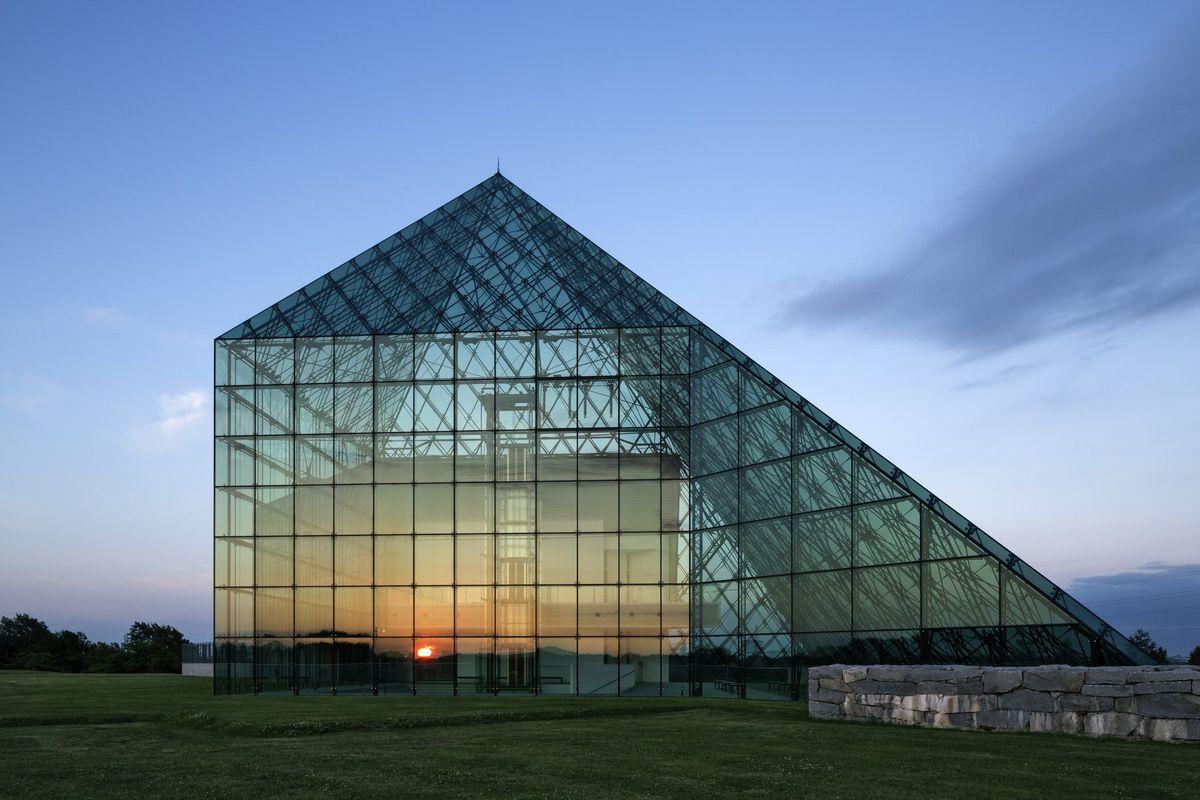 The Glass Pyramid at Moerenuma Park