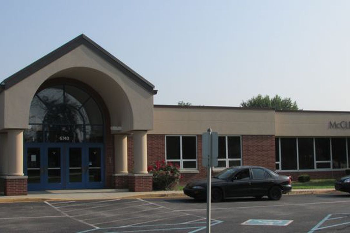 Wayne Township's McClelland Elementary School. The district today passed a referendum with bout two-thirds of the vote.