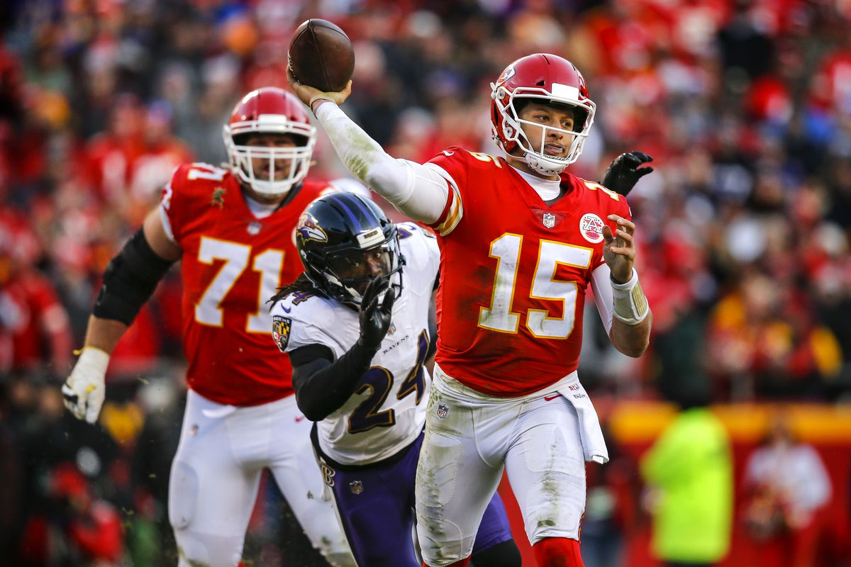 save off 56559 9782c Five things to watch as the Chiefs host the Ravens ...