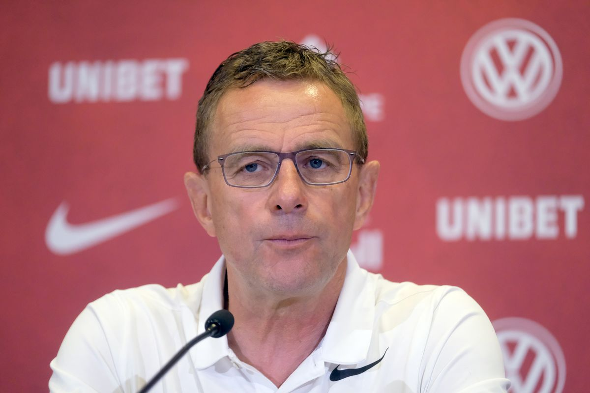 Press conference RB Leipzig
