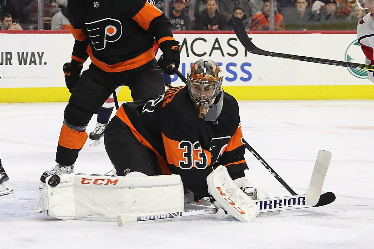 brand new e7017 5ff08 2018-19 Flyers Player Review: Cam Talbot was 100% a Flyers ...