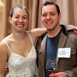 IPOB co-founder Jasmine Hirsch and Grill at Meadowood wine director Augie Kersting.
