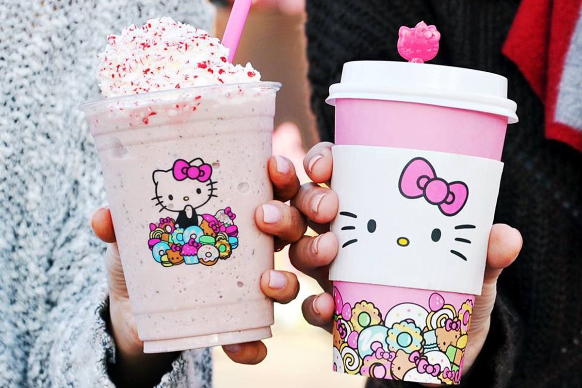 9f37907a0 Drinks from the Hello Kitty Cafe Hello Kitty Cafe/Facebook