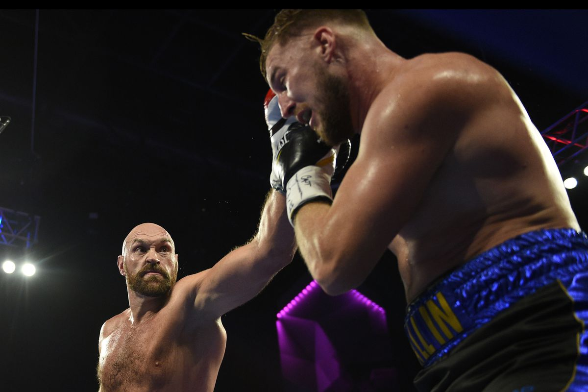 Fury vs. Wallin results: Tyson Fury survives nasty cut on eye to defeat Otto Wallin by decision