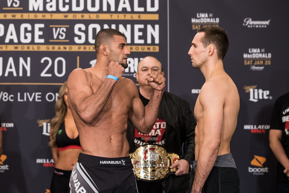 Douglas Lima and Rory MacDonald