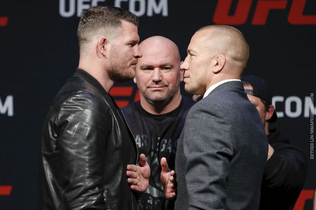 Georges St Pierre issues formal challenge to Michael Bisping, texts Dana White