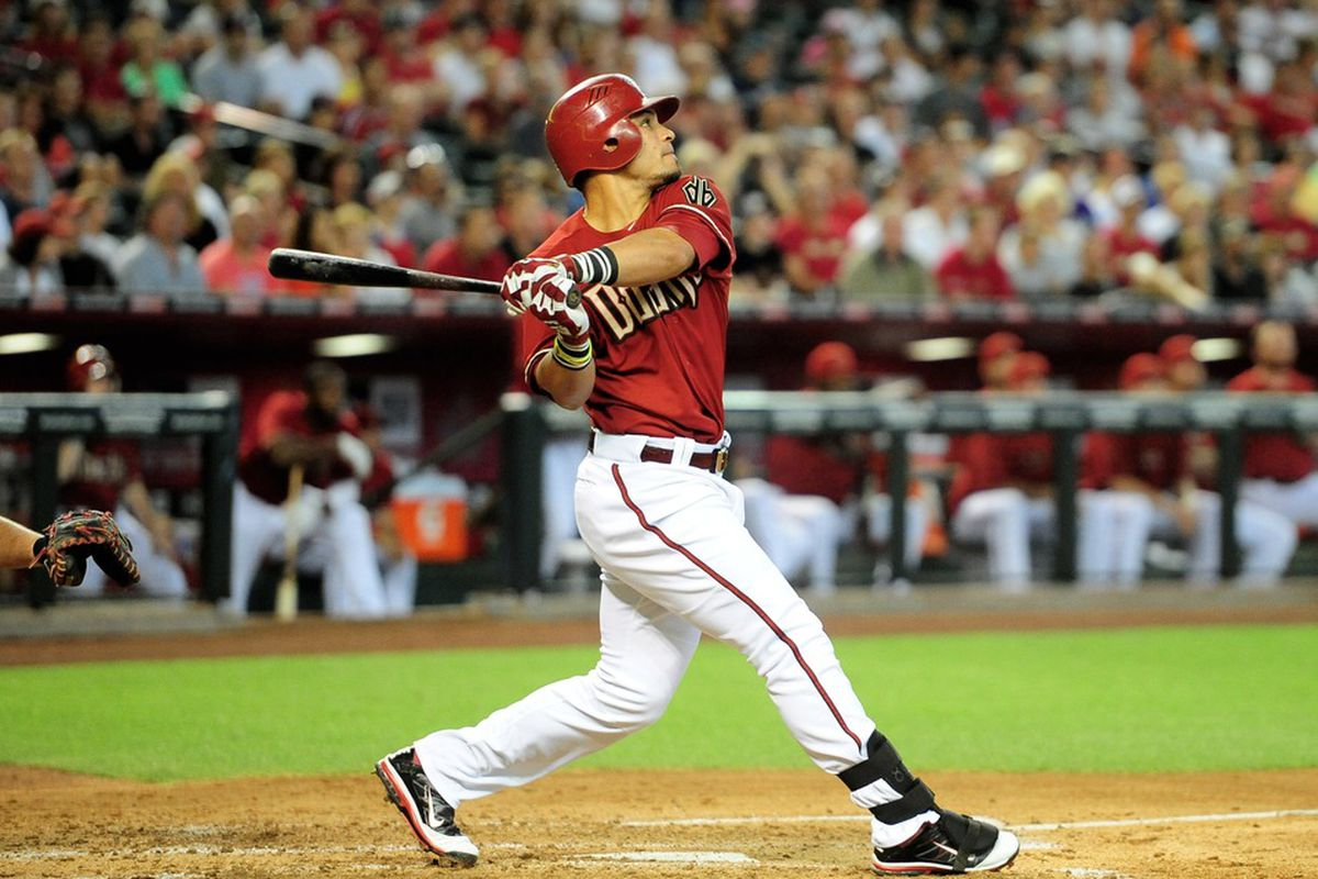 Gerardo Parra provides a very rare moment to remember from last week.