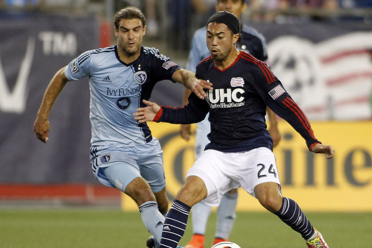 Sporting hosts a red hot Lee Nguyen and the Revs on Friday Night.