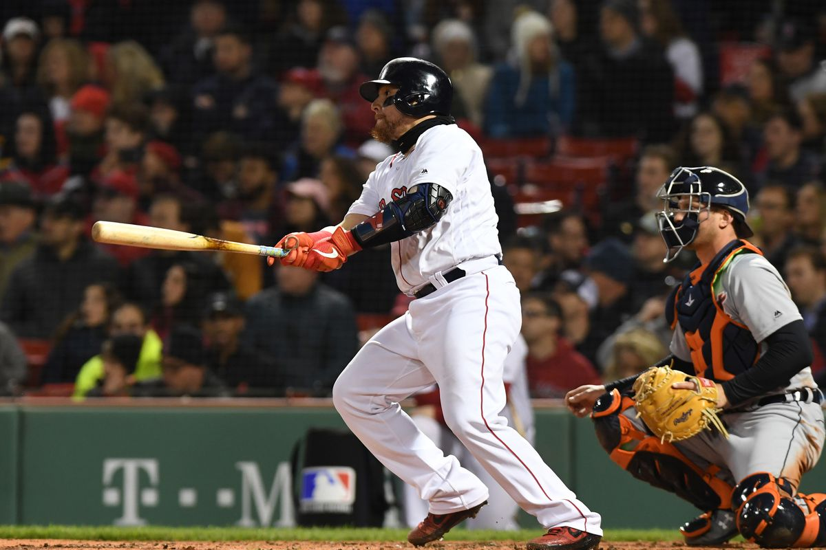 MLB: Game Two-Detroit Tigers at Boston Red Sox