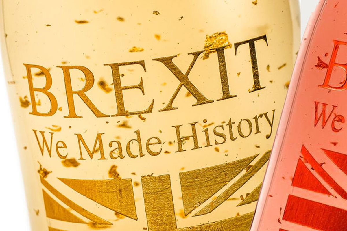 Brexit wine sold by Gold Emotion means no deal for British trade