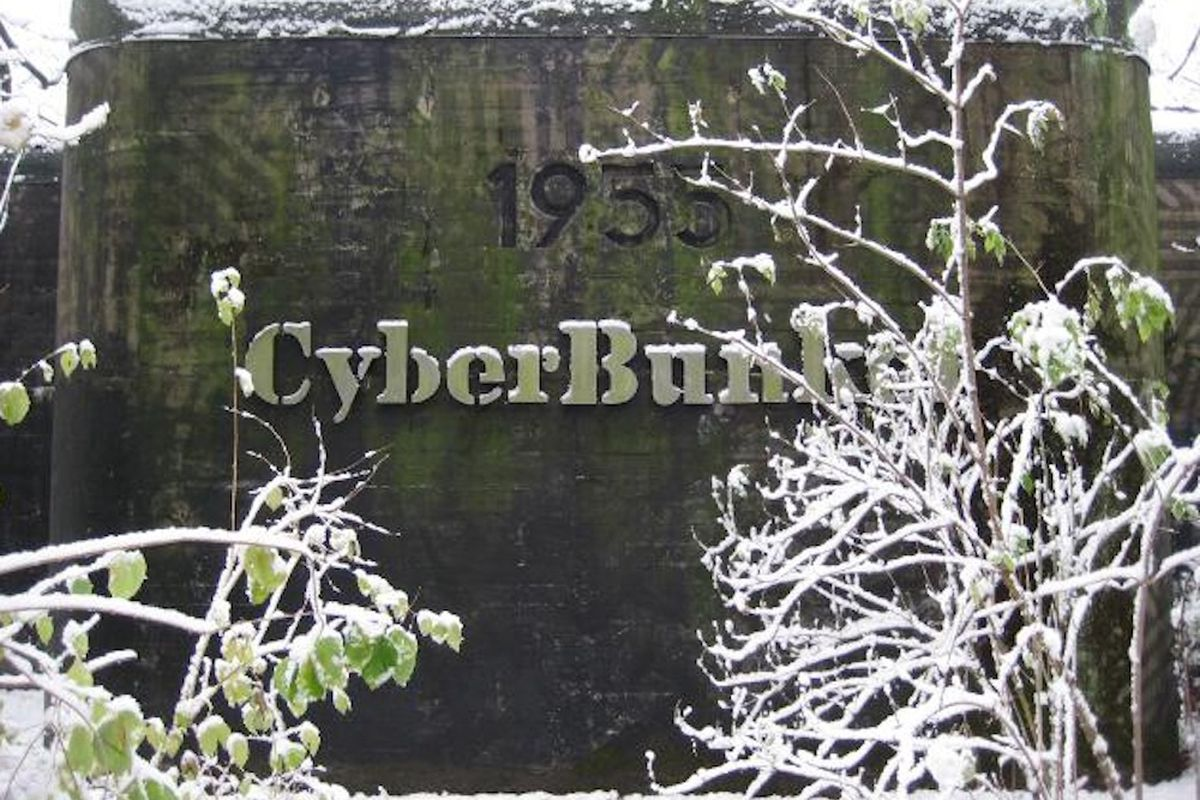 Cyberbunker exterior (from company website)