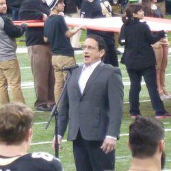 Opera singer for the National Anthem.