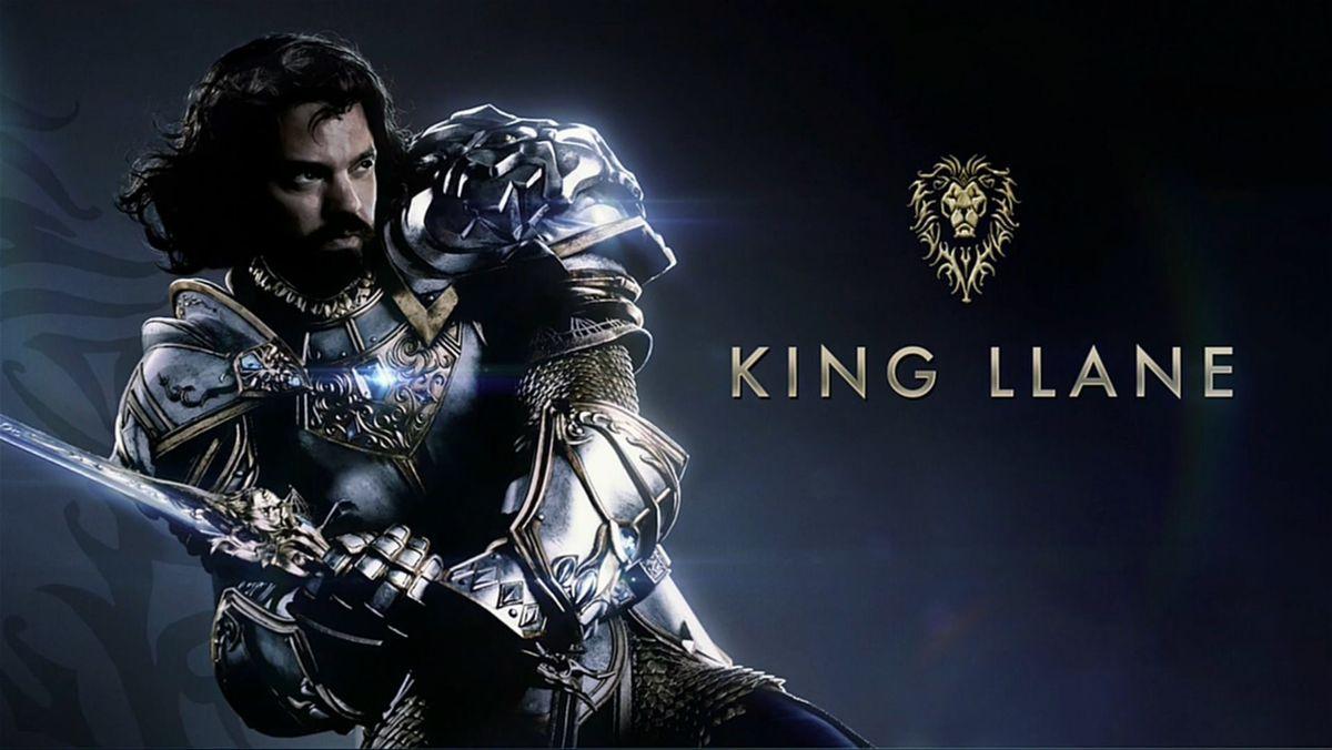 World of Warcraft movie Llane character
