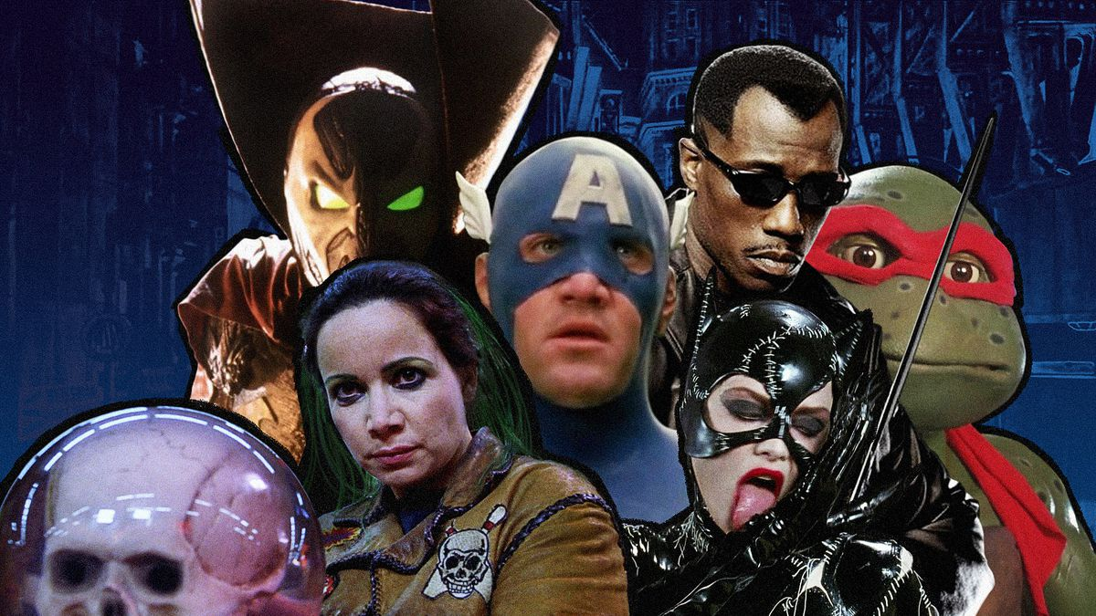 The 25 best and worst comic book movies of the '90s - Polygon