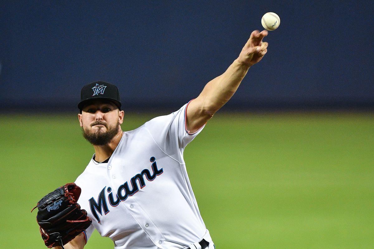 Cleveland Indians v Miami Marlins