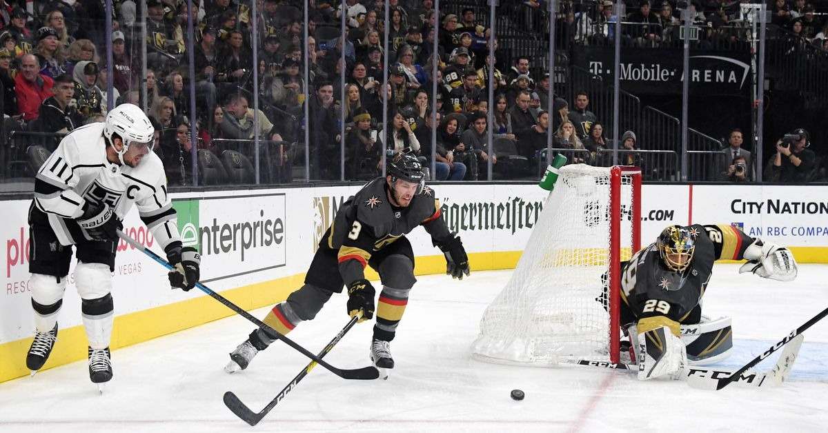 Day Preview 82 Vegas Golden Knights Los Angeles Kings Jewels From The Crown