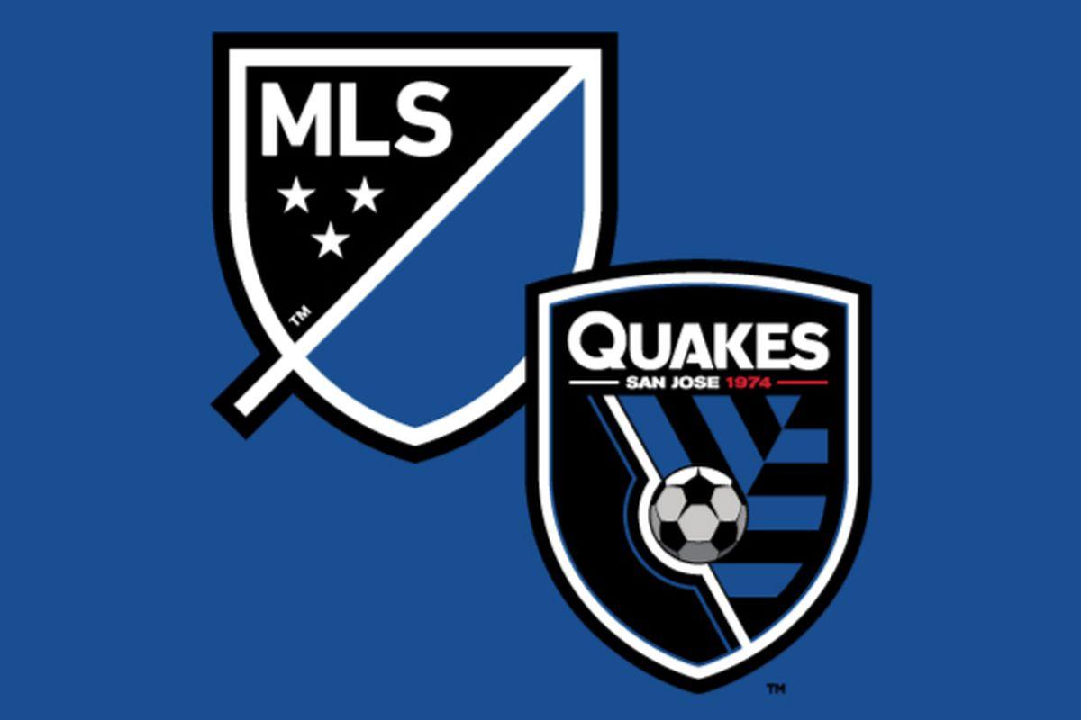 Jose New MLS San pairs unveiled: logo logo Earthquakes
