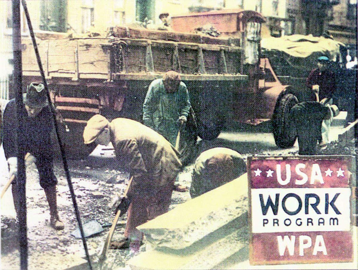 WPA poster, 1935