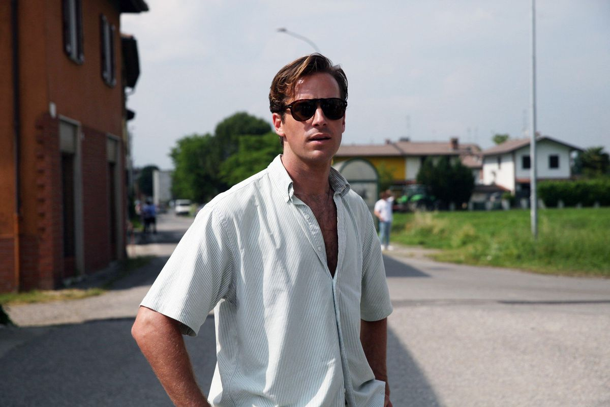 Armie Hammer in 'Call Me by Your Name'