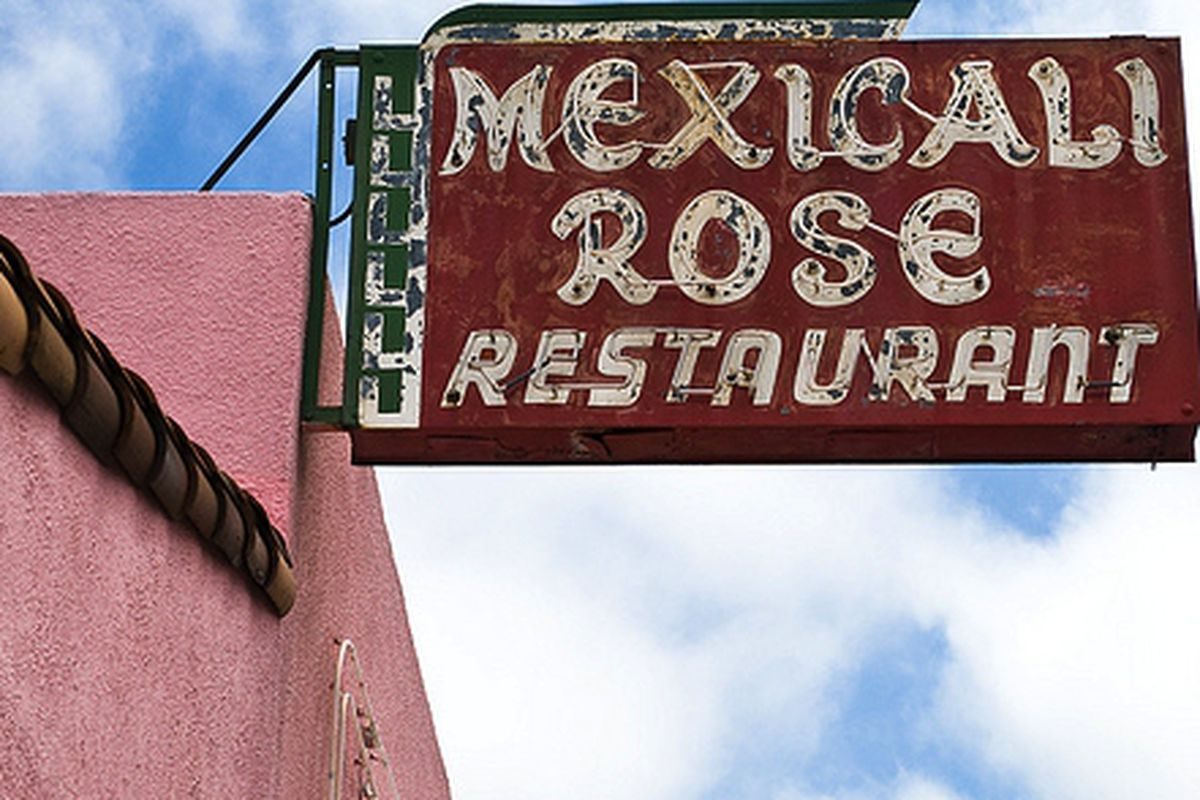 Mexicali Rose in Oakland.