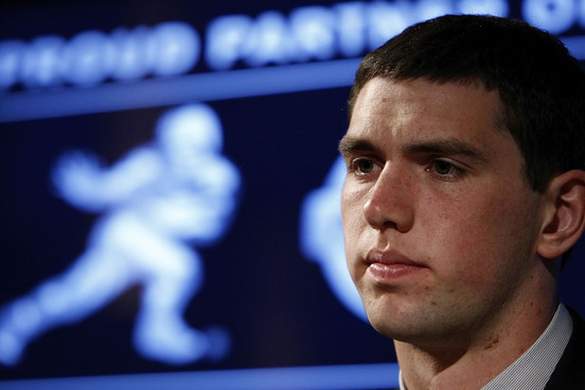 Stanford quarterback Andrew Luck finished second in the Heisman Trophy voting to Auburn's Cam Newton.
