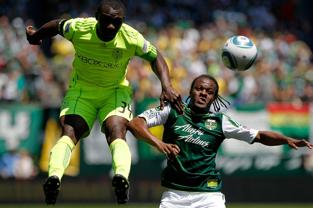 Unaffiliated Seattle Sounders season-ticket holders can now enter a lottery for a chance to buy tickets to see the Sounders play the Portland Timbers at Jeld-Wen Field. (Photo by Jonathan Ferrey/Getty Images)