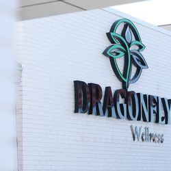 Dragonfly Wellness in Salt Lake City prepares to open as the first of Utah's 14 medical cannabis pharmacies on Monday, March 2, 2020.