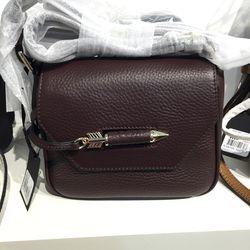 Novaki bag in merlot, $135 (was $225)