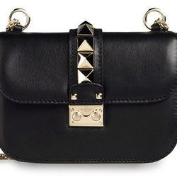 "<b>Valentino</a> Shoulder Bag, <a href=""http://store.valentino.com/VALENTINO%20GARAVANI/detail/tskay/B60ACEA7/cod10/45195149XE/mm/112"">$1,795</a>"