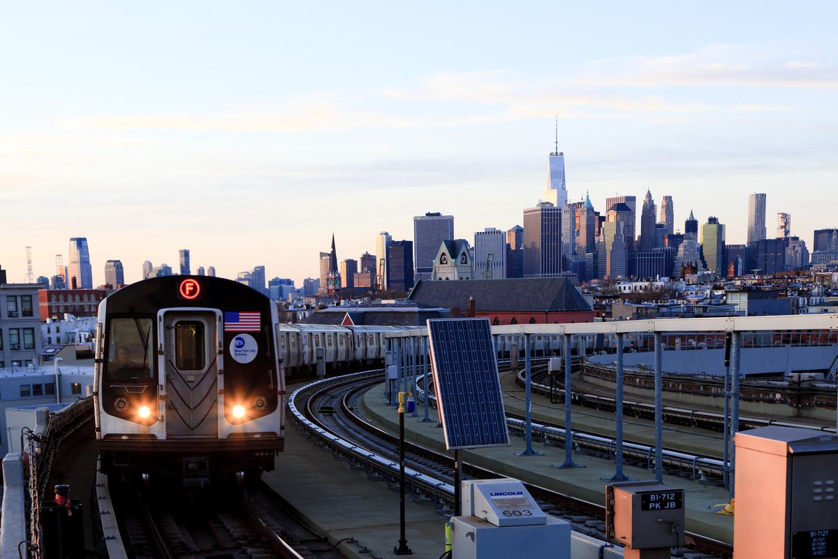 Subway Map F Train Brooklyn.Mta Will Launch Limited Express Service Along F Line In Brooklyn