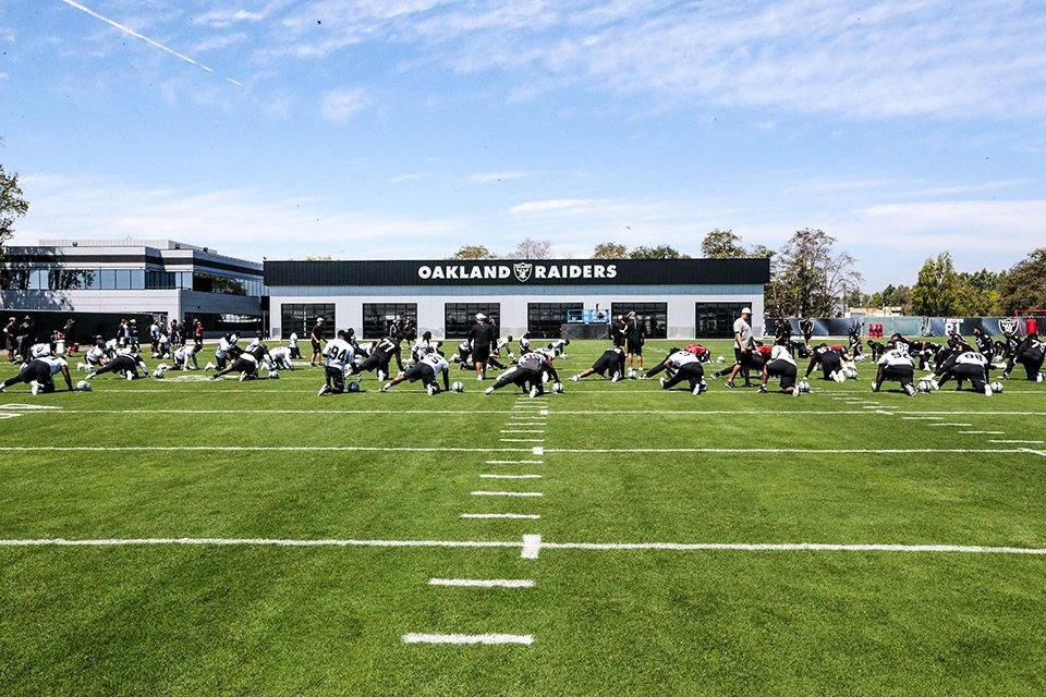 First looks at Raiders brand new performance center