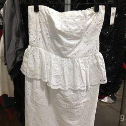 Eyelet Dress ($85)