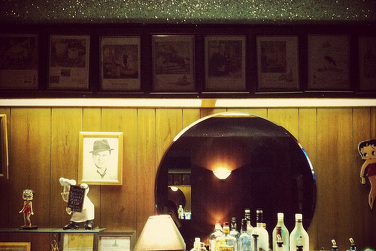 Inside Club Tee Gee, Atwater Village.