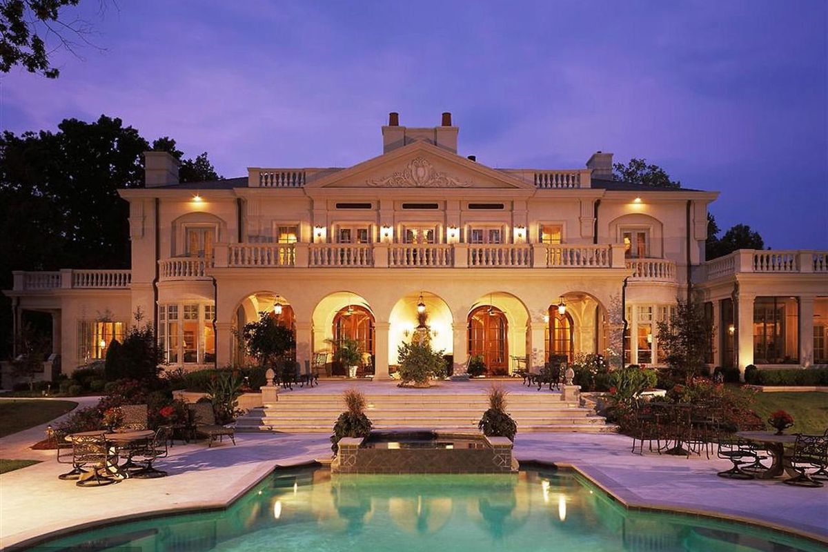 Massive Mclean Mansion Named Chateau La Vie Asks 10 8m