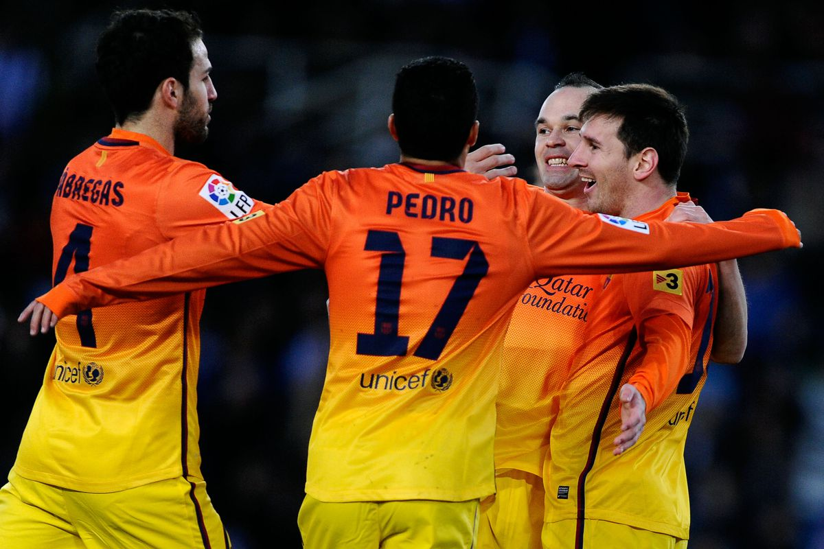 Granada Vs Barcelona Final Score 1 2 Lionel Messi Guides Blaugrana To Comeback Win Sbnation Com