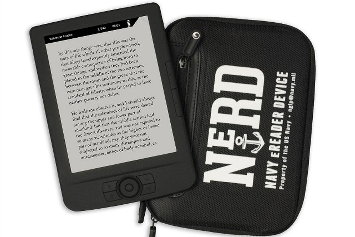 The Navy just announced an e-reader designed for life on a submarine