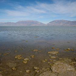 Utah Lake is seen at Lincoln Beach in Spanish Fork on Thursday, Oct. 20, 2016.