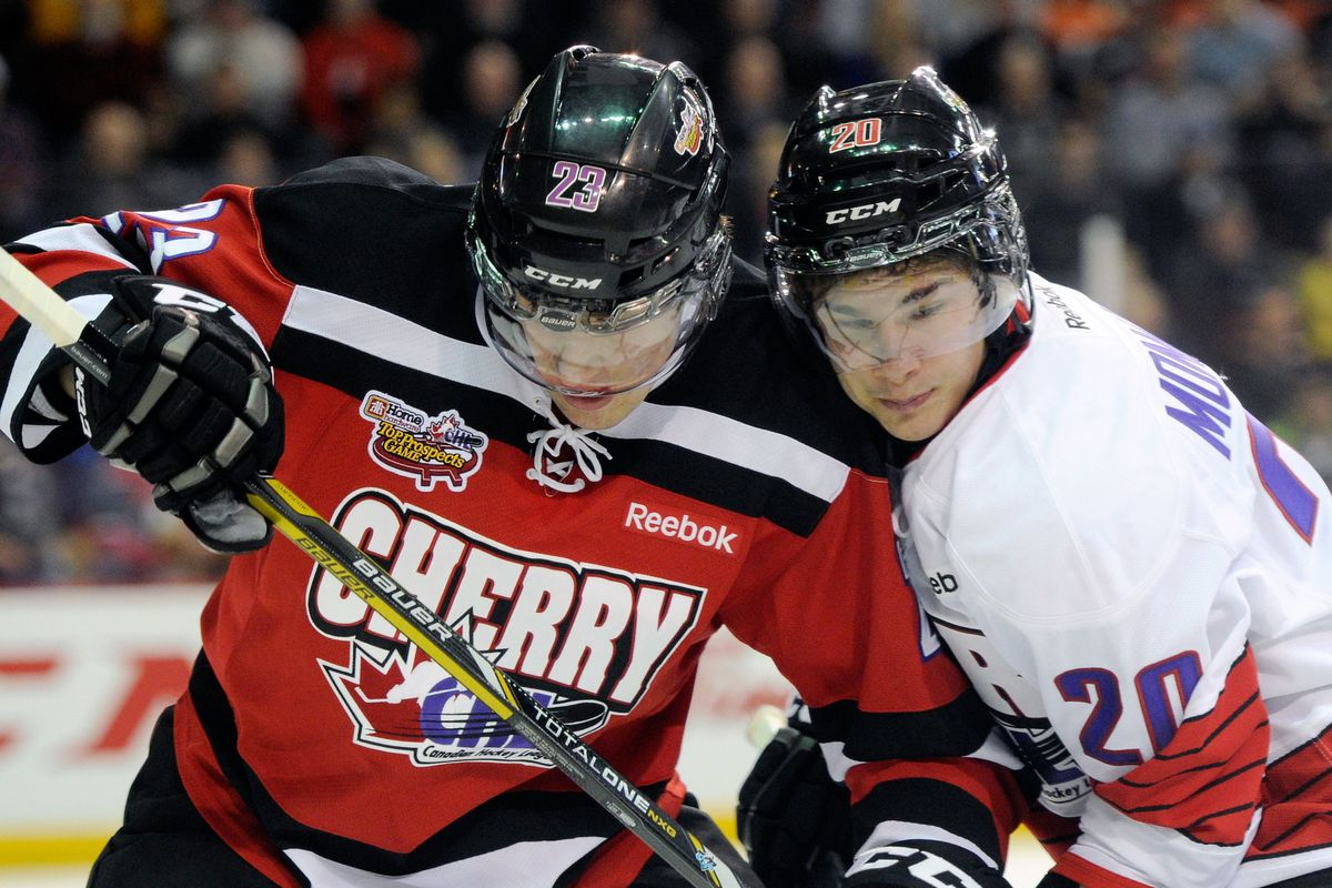 Frederik Gauthier at the CHL Top Prospects Game